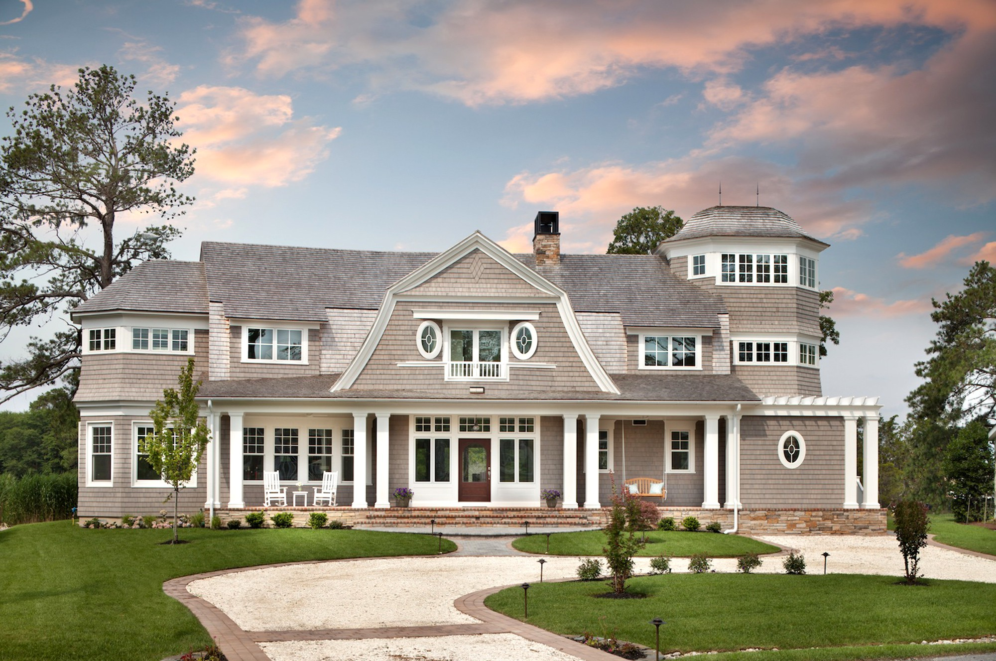 Custom homes renovation remodeling construction firm for Architectural exterior design virginia beach