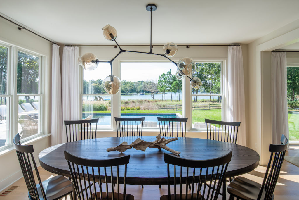 View from kitchen to the bay in St. Michaels, MD